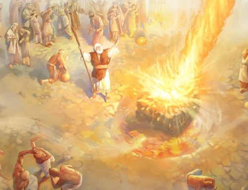 Fire from Heaven Is a Problem for Mohammad