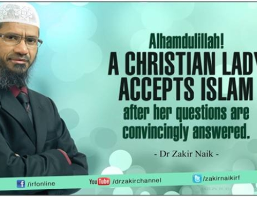 Zakir Naik Teaches Holy Spirit Blasphemy