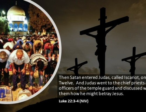 ISLAM FRIDAY PRAYER JESUS CRUCIFIED