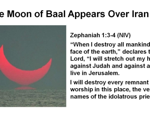 BAAL MOON IRAN JESUS WARNING