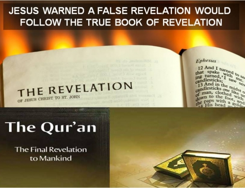 JESUS WARNS QUR'AN IS FALSE