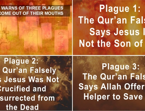 JESUS WARNS THREE PLAGUES