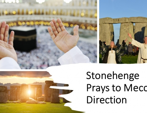 Stonehenge Prayer Faces Mecca