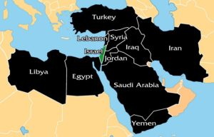 Islamic Nations that Invade Israel